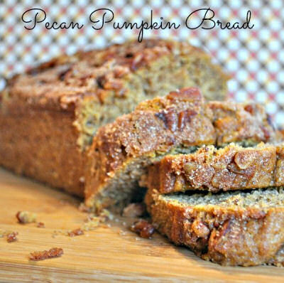 Pecan and Pumpkin Bread