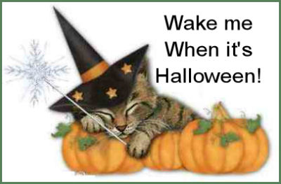 Wake me when it's Halloween.