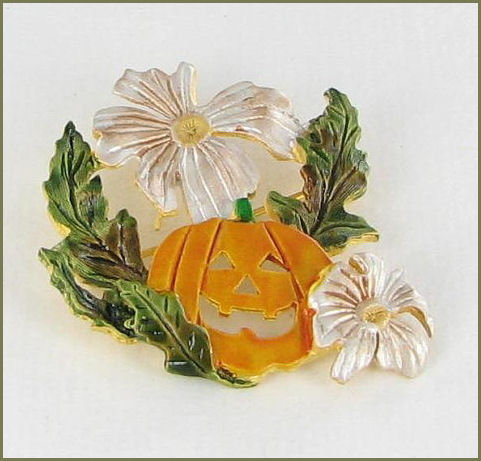 Halloween Fall Pin