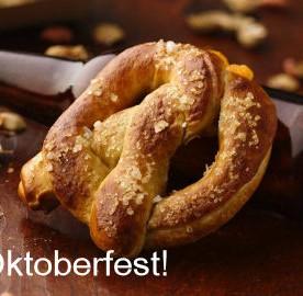 Beer Cheese Stuffed Pretzel for Oktoberfest