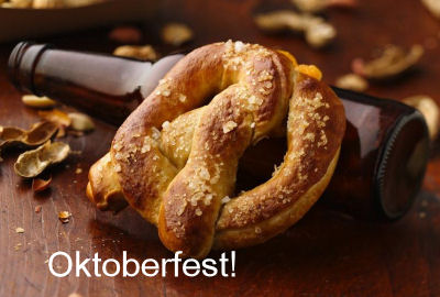 Beer Cheese Stuffed Pretzel for Oktoberfest
