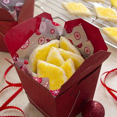 Lemon Shortbreads Recipe