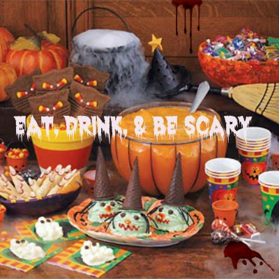 Halloween Quote: Eat Drink and Be Scary