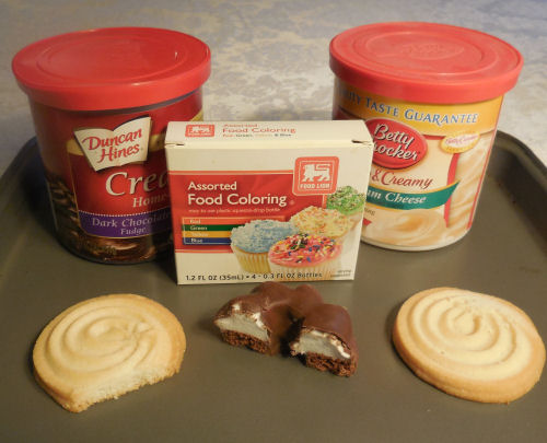 Marshmallow Turkey Cookie supplies
