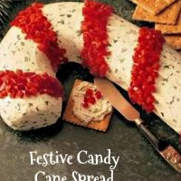 Candy Cane Cream Cheese Spread