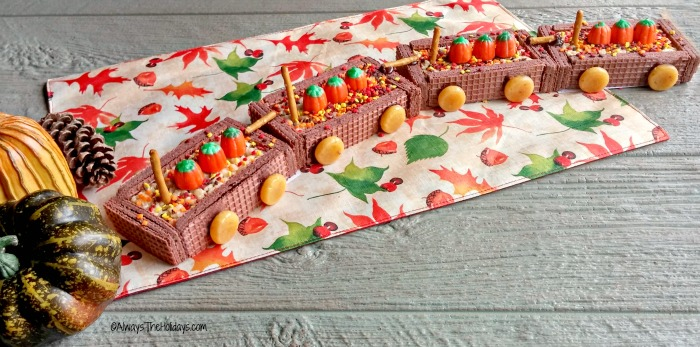 Thanksgiving DIY cookie train
