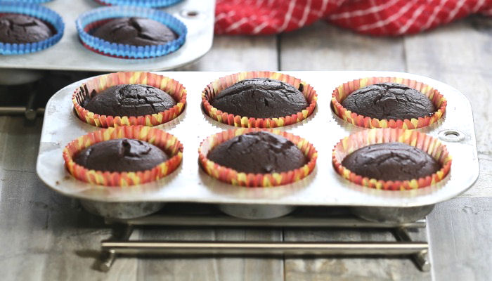 Cooked cupcakes