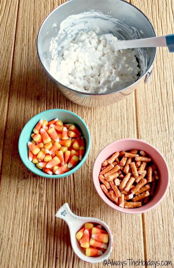 separate your fudge ingredients