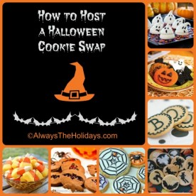 How to Host a Halloween Cookie Swap