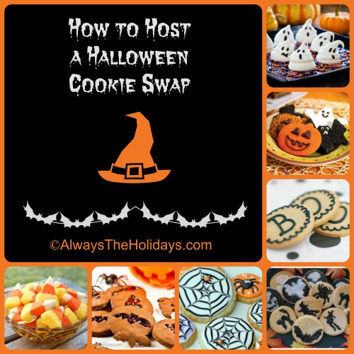 Cookie swaps are not just for Christmas. See my tips for hostging a Halloween Cookie exchange