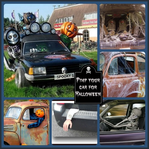 pimp your car for halloween these creative halloween car decoration ideas will have your halloween - Car Decorations For Halloween