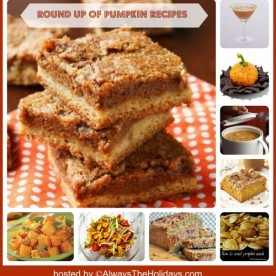 Round up of Pumpkin Recipes from Soup to Drinks!