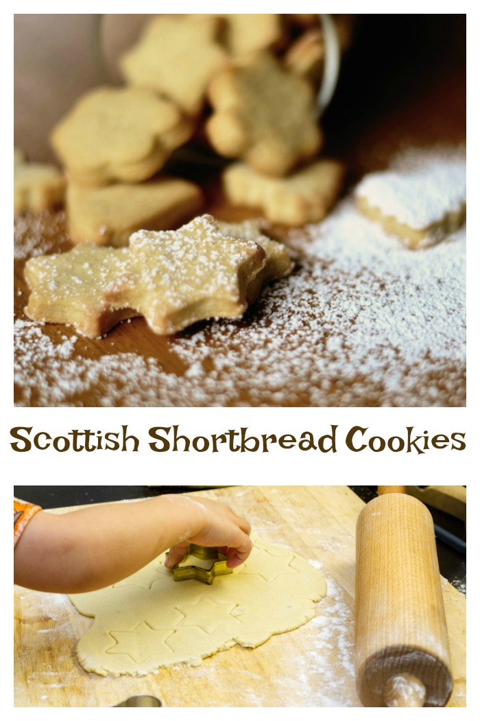 Make Scottish shortbread cookies at home with just three ingredients