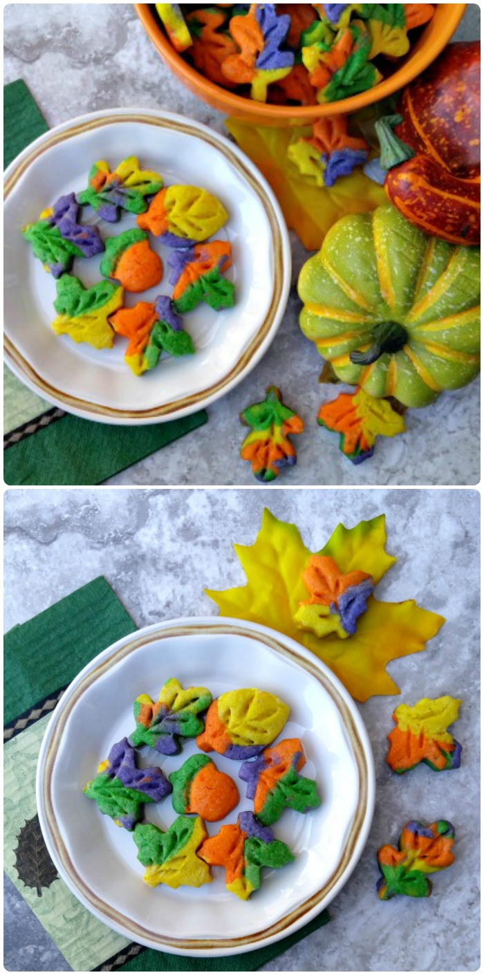 This Thanksgiving cookie recipe will bring in the color of fall to your holiday table. They are easy to make and your holiday guests will love them!