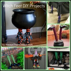 Top Witch Feet DIY projects