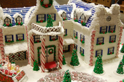 Gingerbread house of the Nittany Lion Inn