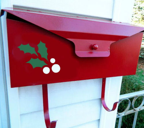 DIY Mailbox make over. Change the colors and designs with the seasons!