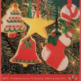 DIY Christmas Cookie Ornaments