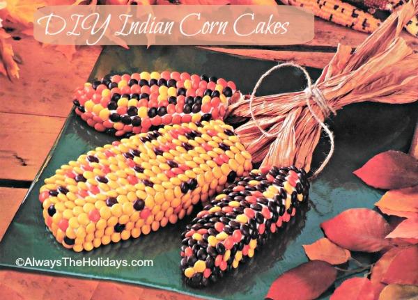 DIY Indian Corn Cakes
