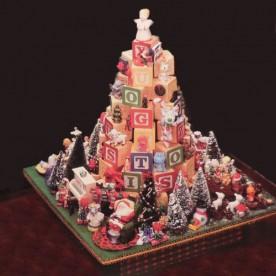 DIY Block Christmas Tree Project