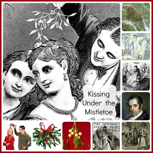 The History of Kissing Under the Mistletoe