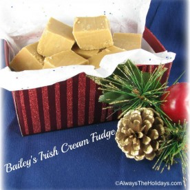 Bailey's Irish Cream Fudge - Just plain delicious!