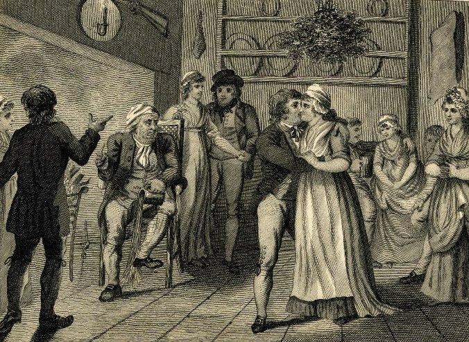 Victorian Kissing Ball