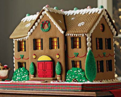 NY Style gingerbread house from cakes3.com