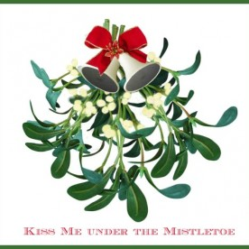 The tradition of Kissing Under the Mistletoe