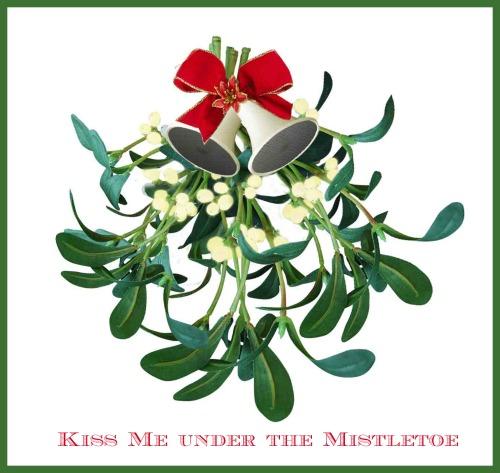 The History of Mistletoe - The Kissing Plant - Kissing Balls, Sprigs & Love