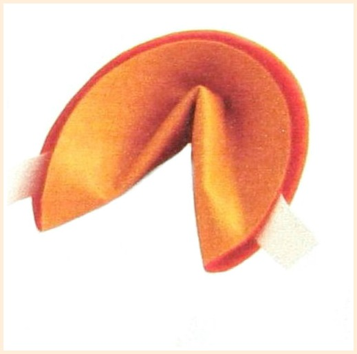 These no sew fortune cookie. are perfect for the Chinese New Year Celebration