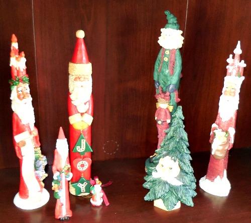 Pencil Santas