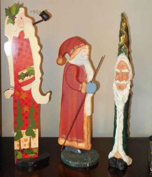 Tall SAnta Figures