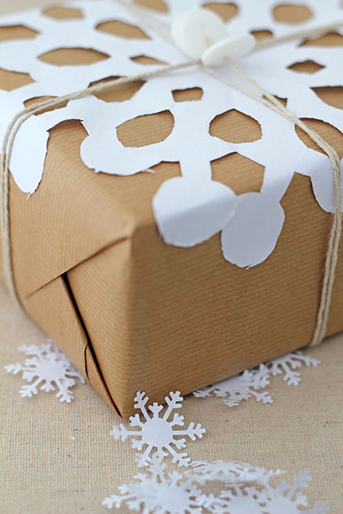 Snowflake Gift Wrap project.