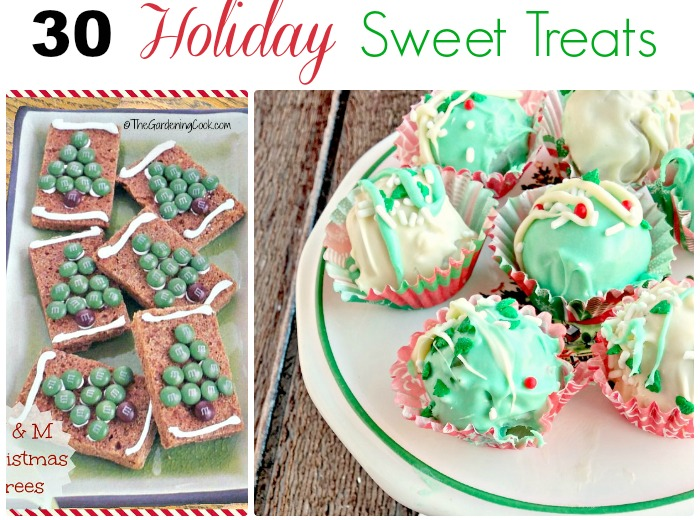 30 of my favorite holiday recipes