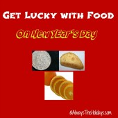Lucky New Year's foods