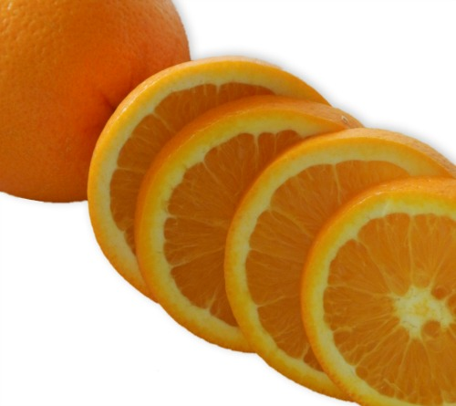 Eat 12 oranges slices on new years for 12 months of riches