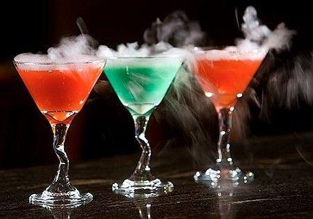 Smoking Martinis from drinkedin.net