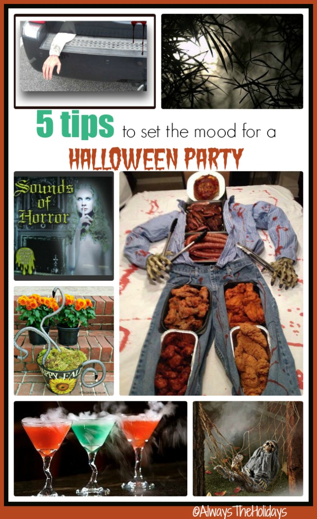 If you are planning on hosting a Halloween party, you will know that setting the mood is a big factor in the success. See my tips for setting a great Halloween party mood
