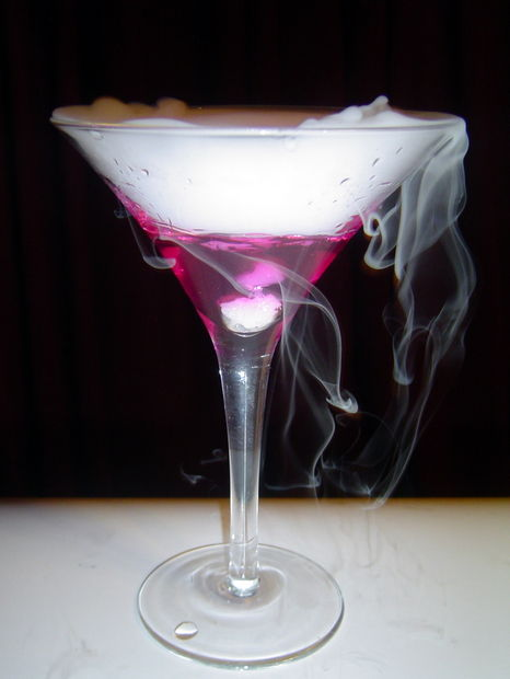 Color Changing Martini from instructables.com