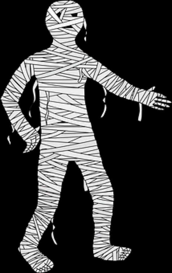 Mummy figure