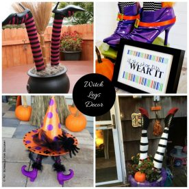 Witches feet decorations