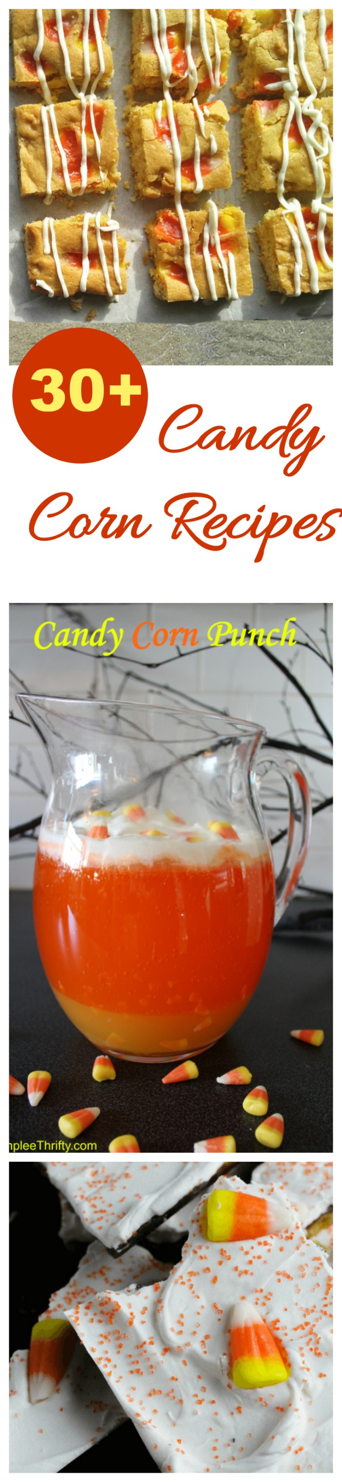These candy corn recipes take the favorite Fall candy to a whole new level #candycornrecipes #candycorndesserts