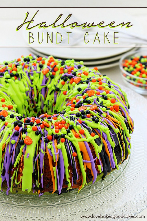 Halloween bundt cake from lovebakesgoodcakes.com