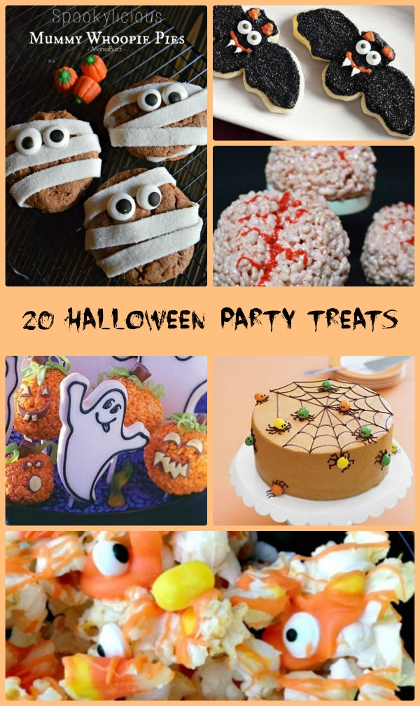 These 20 Halloween sweet treats will get your holiday party off to a spooky start - alwaystheholidays.com