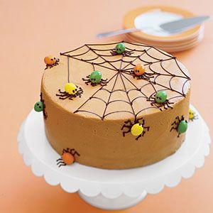 Spiderweb spice cake from myrecipes.com