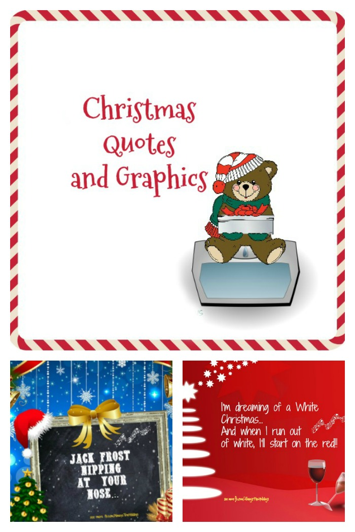These Christmas quotes and Graphics can be framed, shared on Social media or made into Christmas Cards.