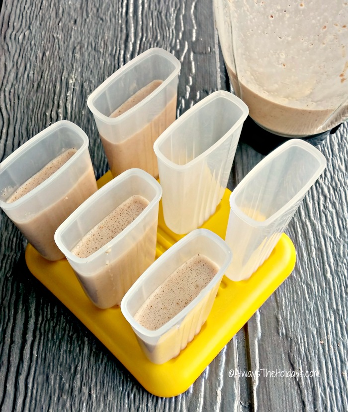 molds for Paleo Nutella Pudding Pops