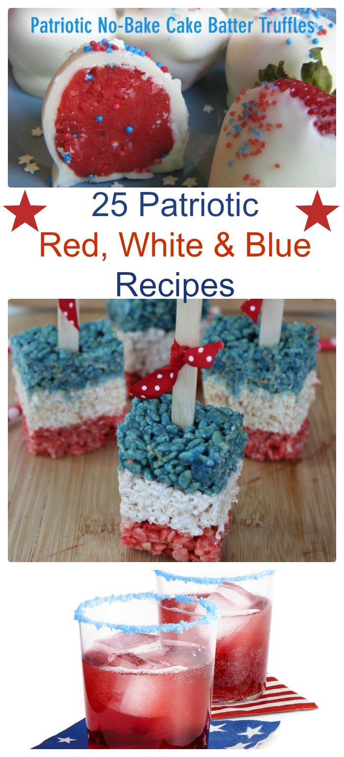 25 Patriotic recipe ideas for the 4th of July - alwaystheholidays.con