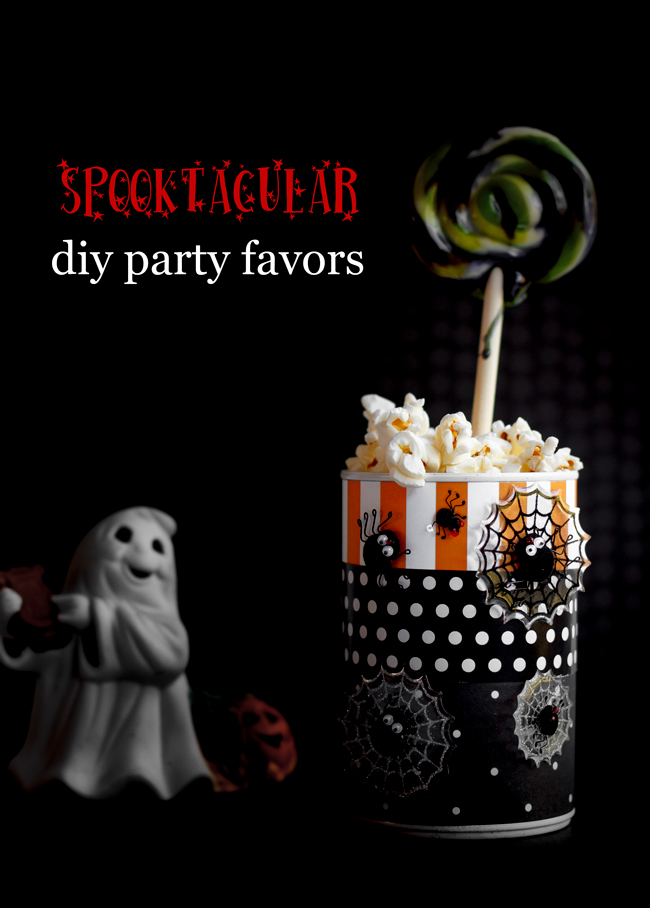 These Halloween party favors will hold your favorite snacks. They make the perfect gift to send home with your guests. Best of all, they are super easy to make. This is my latest featured post from mollymel.blogspot.com